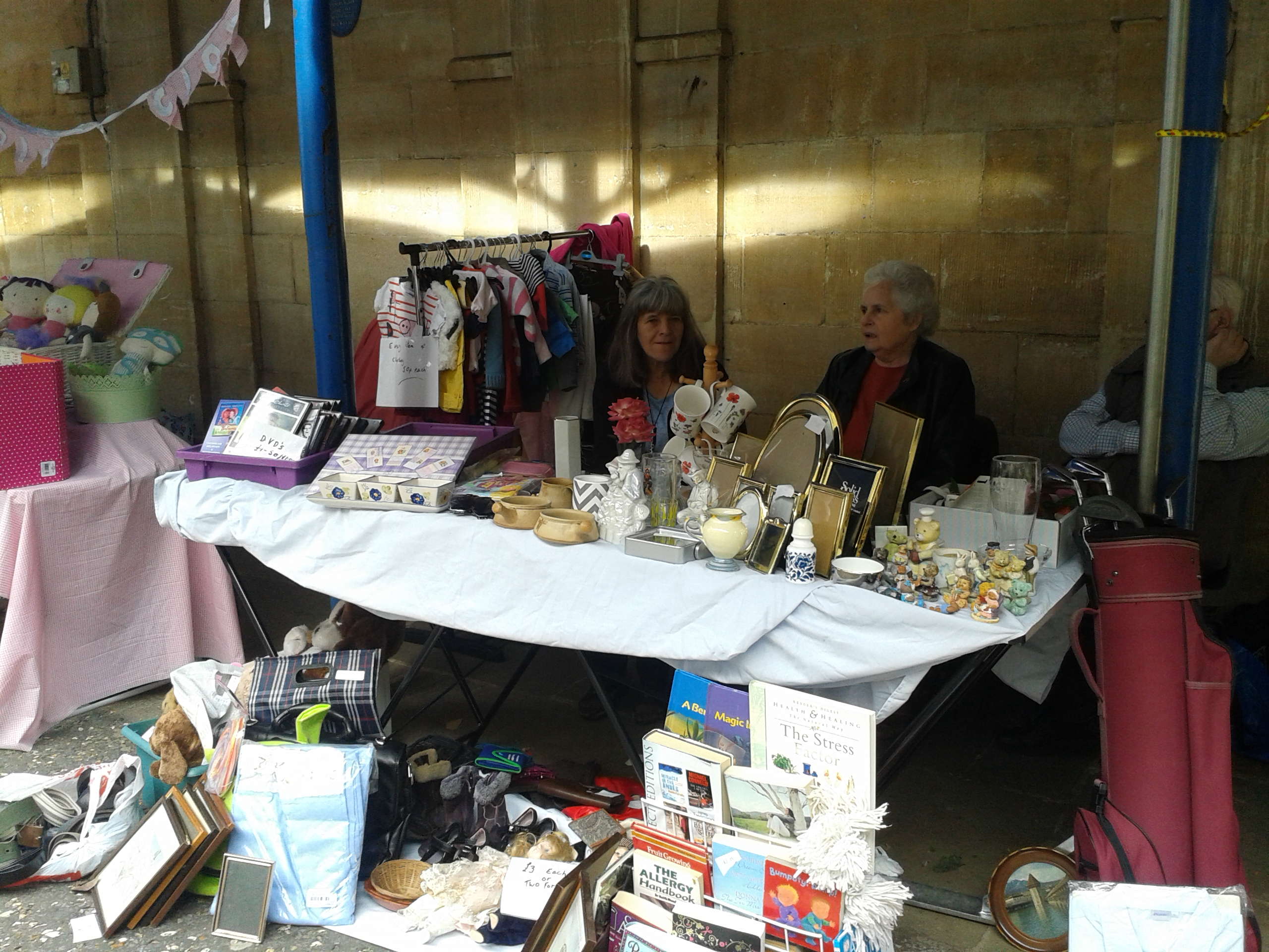 Church of The Seven Day Evangelists - Charity Stall.